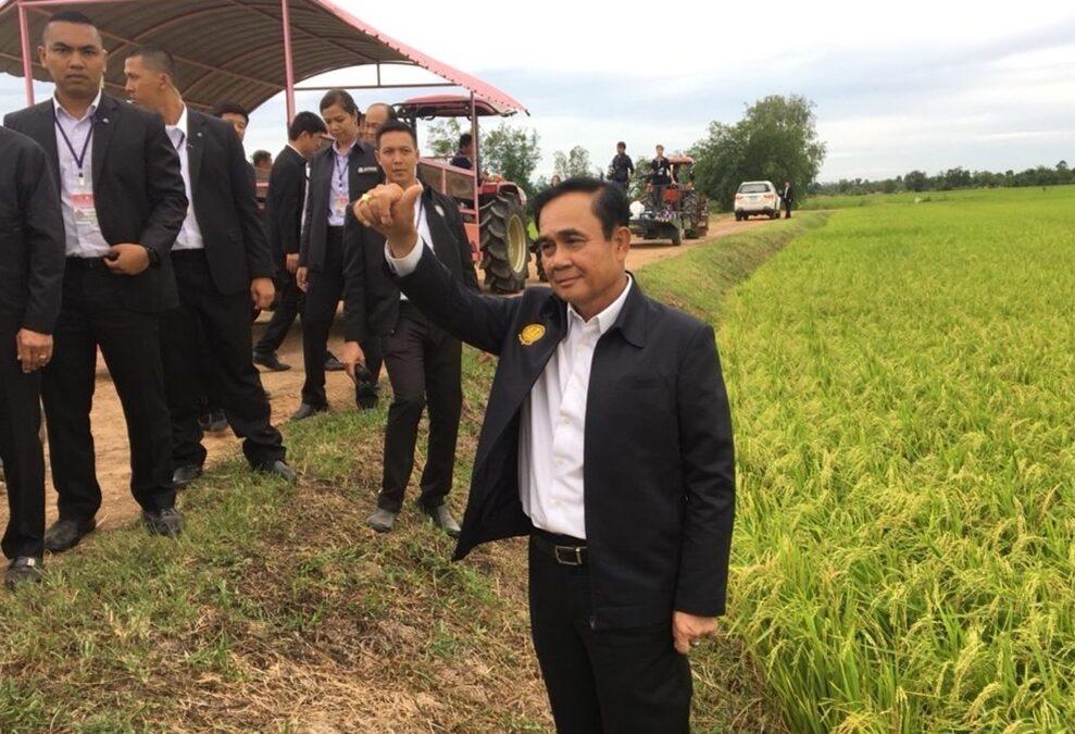 'บิ๊กตู่' พอใจผลงานเกษตรแปลงใหญ่ สั่งรุกโครงการเกษตรสมัยใหม่ให้ทันกรอบเวลา