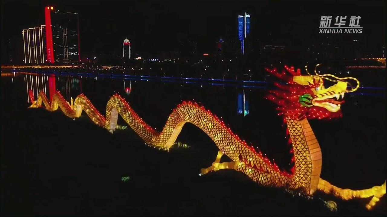 ไฟประดับส่องสว่างทั่ว 'ไท่หยวน' ฉลอง 100 ปี พรรคคอมมิวนิสต์จีน