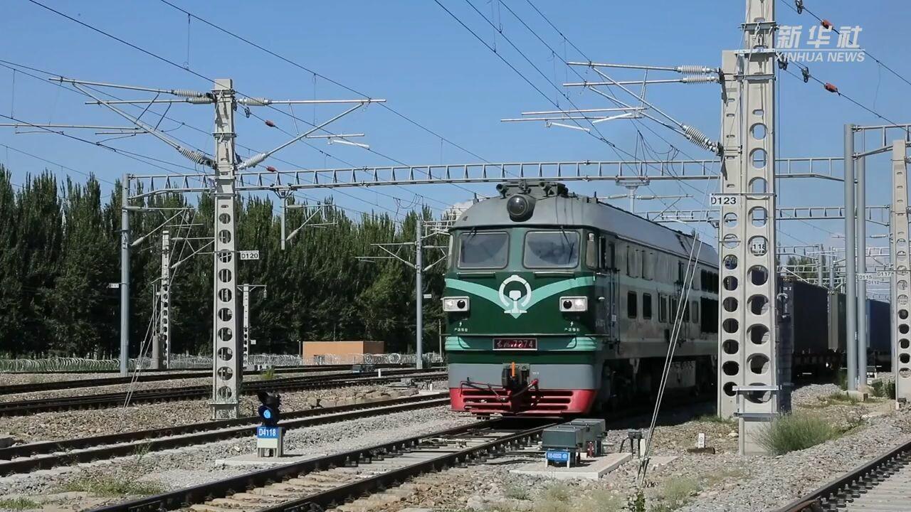 'ท่าด่านซินเจียง' รองรับรถไฟสินค้าจีน-ยุโรปกว่า 3,000 ขบวนในปีนี้