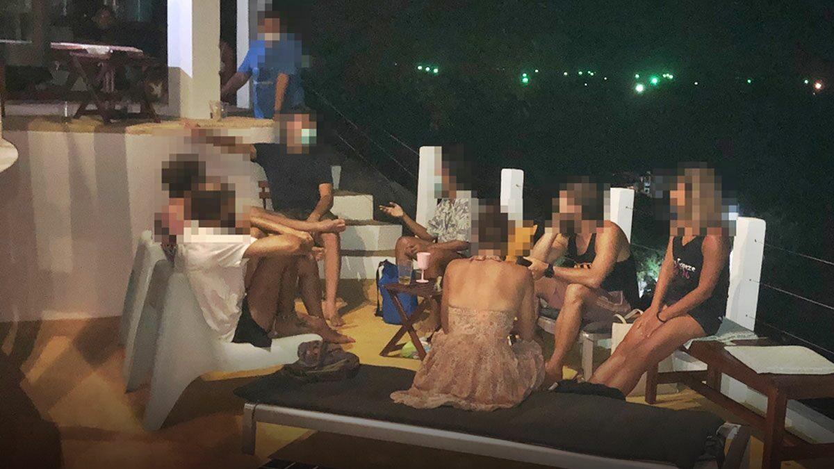 บุกทลายปาร์ตี้มั่วสุมยาอี-กัญชา จับชาวไทย-ต่างชาติ 20 คน ฝ่าฝืน พ.ร.ก.ฉุกเฉิน