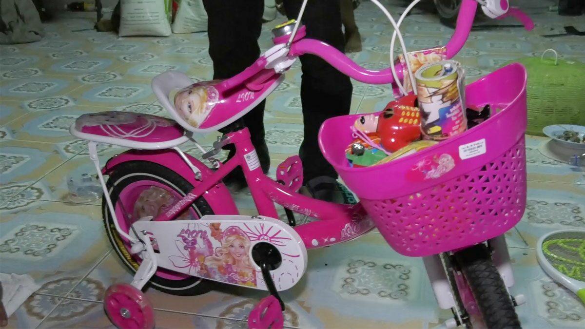 ป้าใจสลาย! หลาน 2 ขวบจมน้ำดับ เพิ่งซื้อจักรยานให้ปั่นเล่น เผยกำพร้าตั้งแต่เกิด