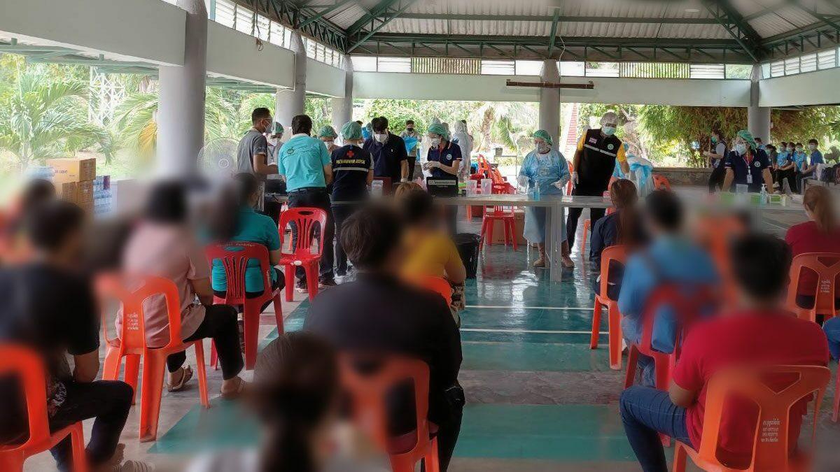 ลพบุรี สั่งปิดโรงงานบี.ฟูดส์ หลังตรวจพบพนังงานติดโควิด เฉียด 200 คน
