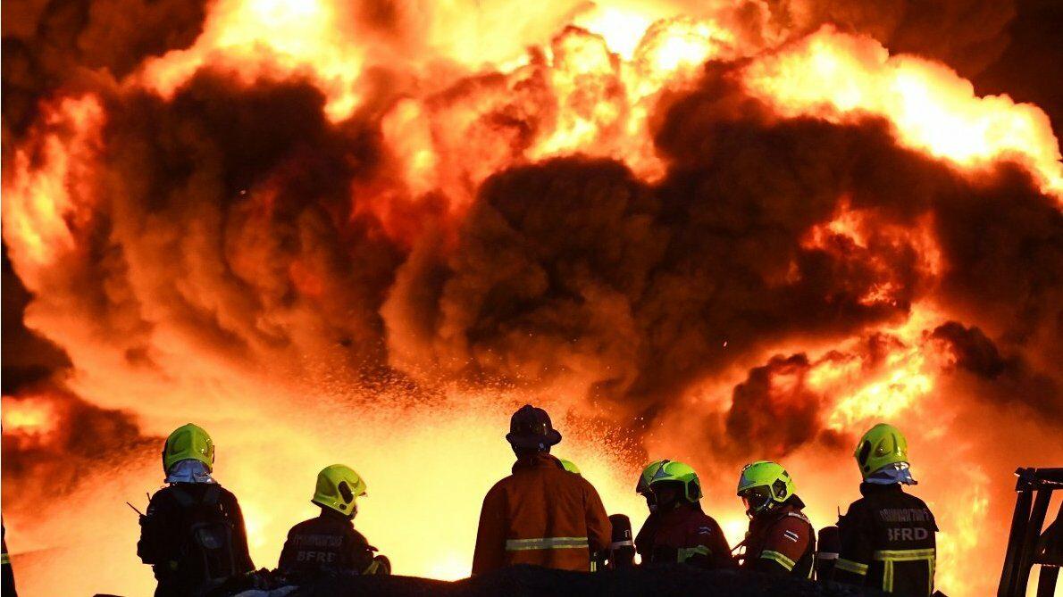 โรงงานกิ่งแก้วไฟไหม้ : เรารู้อะไรแล้วบ้าง หลังไหม้มาตั้งแต่ตี 3