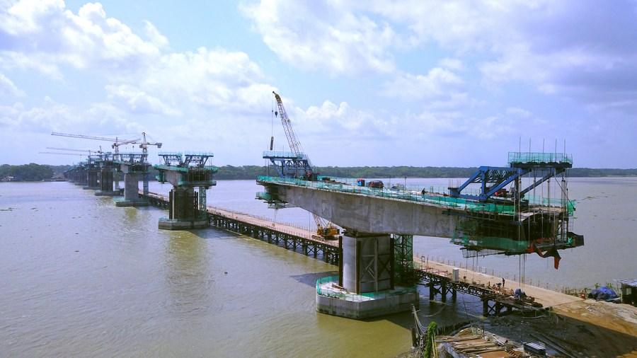 สะพานมิตรภาพ 'บังกลาเทศ-จีน' แห่งที่ 8 เอื้อการเดินทางในท้องถิ่น