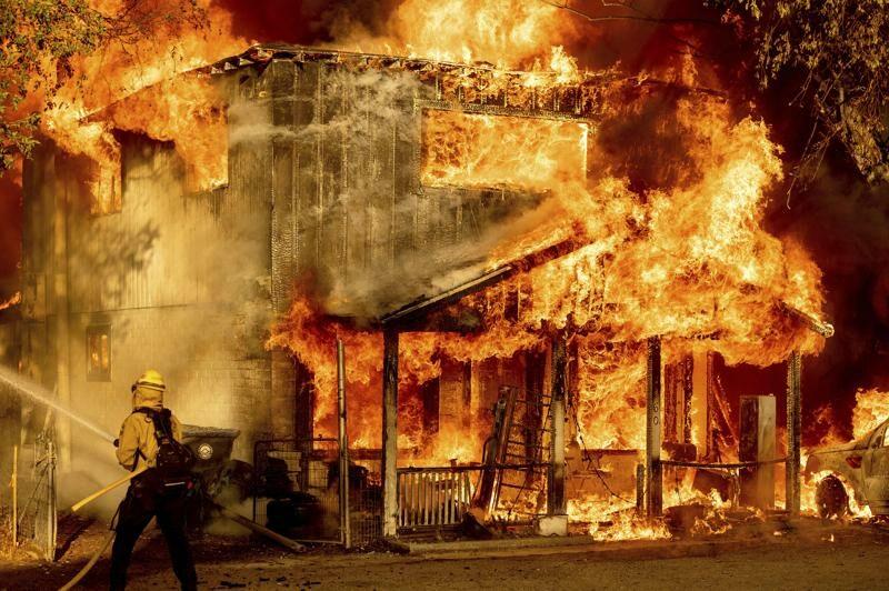หลายรัฐฝั่งต.ต.มะกันเจอไฟไหม้หนัก-คลื่นความร้อนถล่ม เดธวัลเลย์ 54.4 องศา