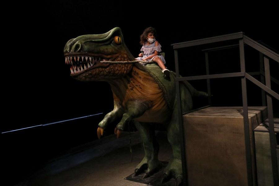 พิพิธภัณฑ์วิทย์อิสราเอลจัดนิทรรศการไดโนเสาร์
