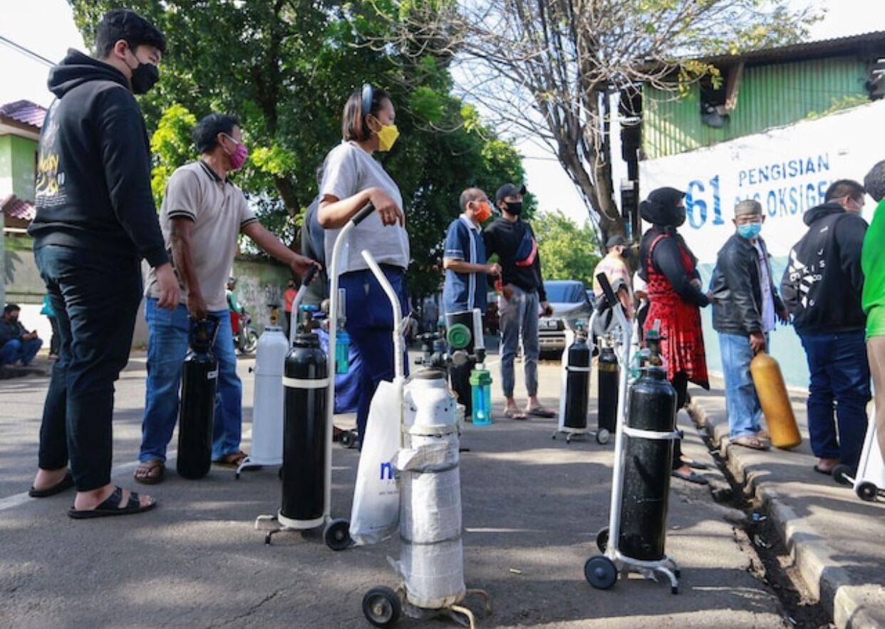 อินโดนีเซียรั้งที่ 1 โลก ติดโควิดเพิ่มรายวันสูงสุด 4.7 หมื่น