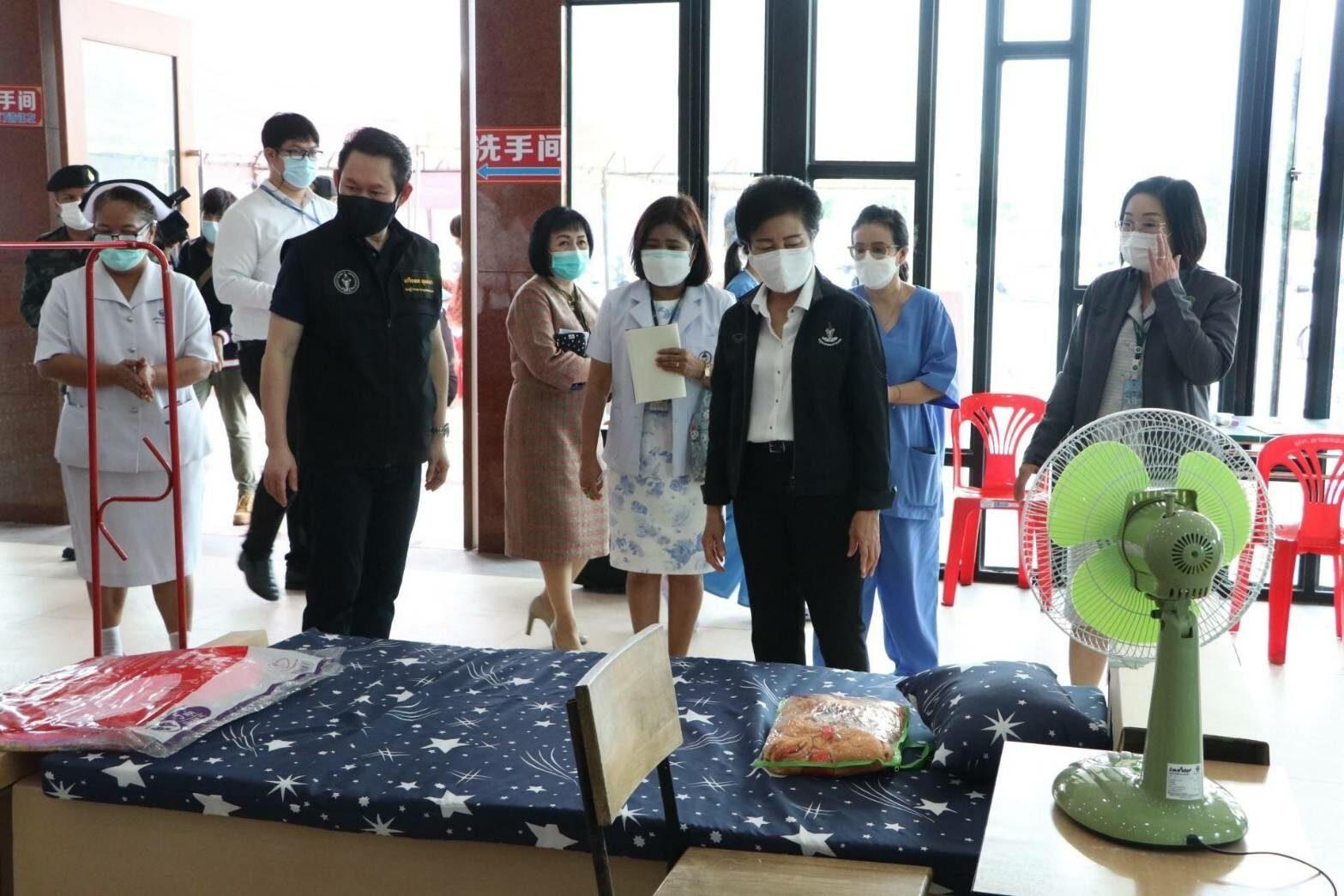 กทม.ตรวจความพร้อมศูนย์พักคอยฯย่านลาดกระบัง รับผู้ติดเชื้อโควิดโซนกรุงเทพตะวันออก