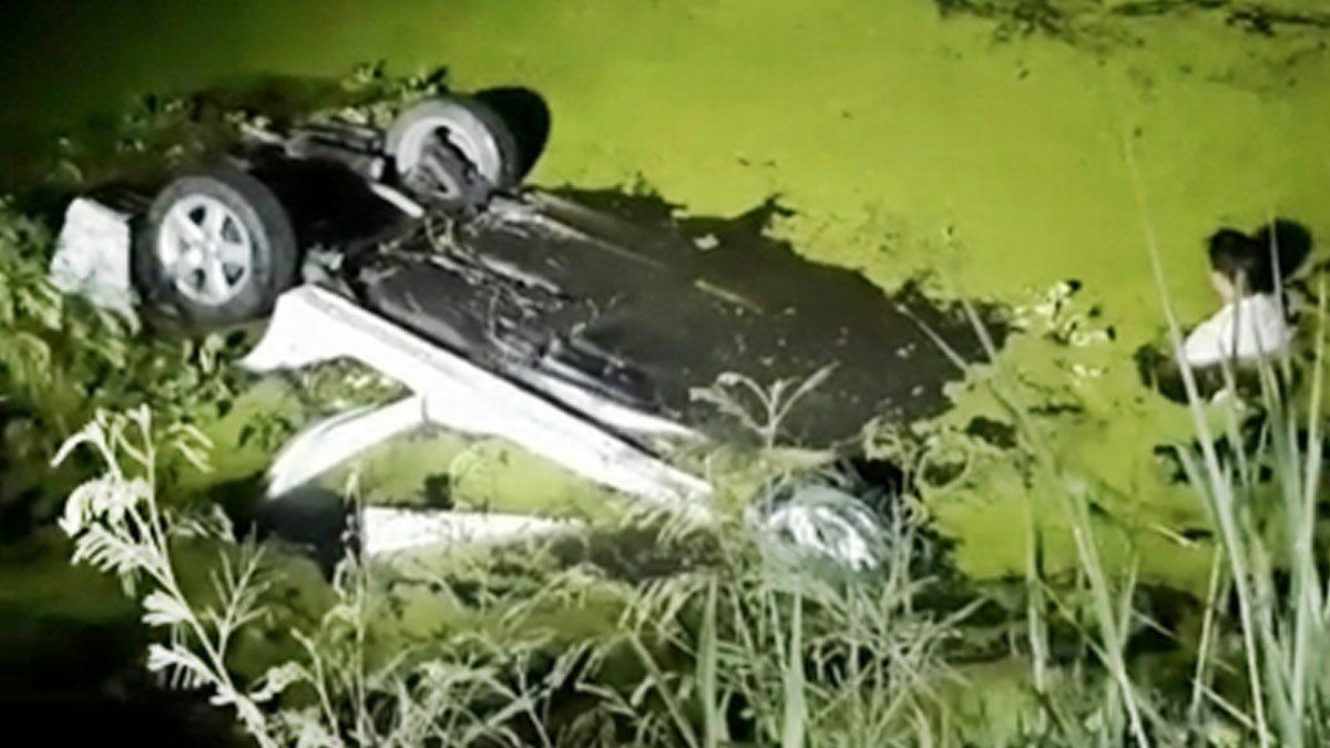 หญิงขับเก๋งไปเยี่ยมสามีที่รพ. รถเสียหลักพุ่งตกคลองจม2ศพ ลืออาถรรพ์