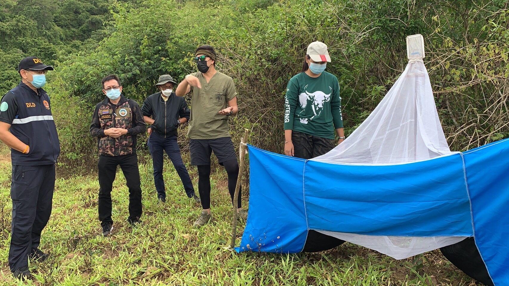 กรมอุทยานฯ ยก กุยบุรีนำร่องต้นแบบ แก้ปัญหาเจอเชื้อลัมปีสกินในซากกระทิง