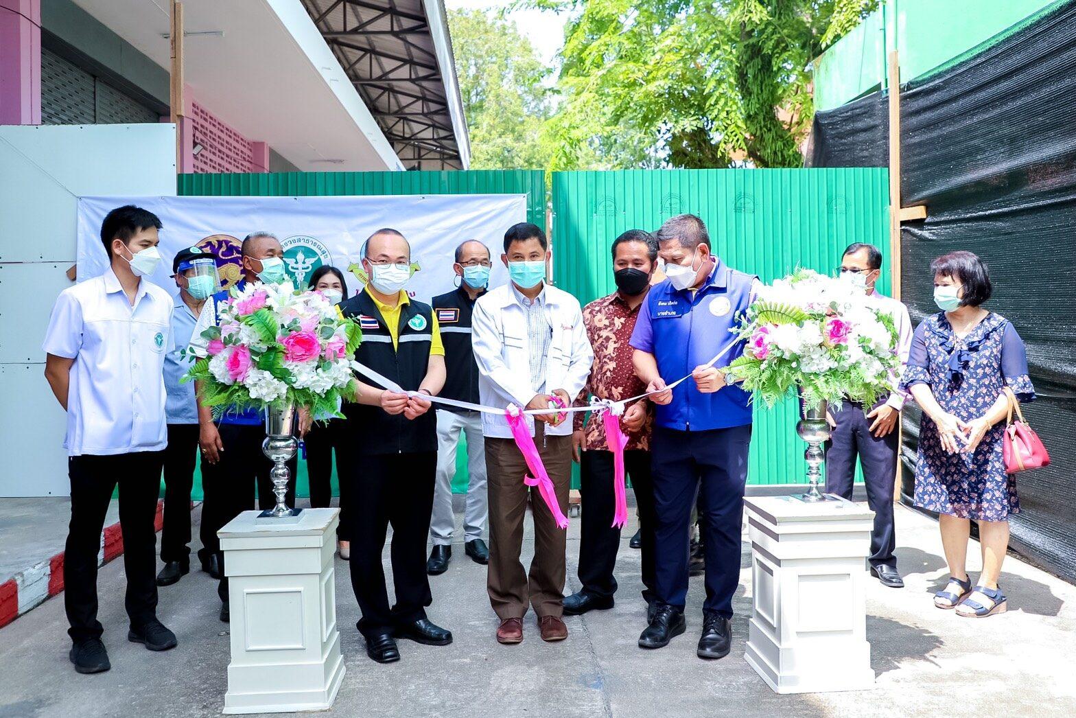 นราธิวาสเปิดโรงพยาบาลสนามแห่งที่ 7 รองรับผู้ป่วยโควิด19 ได้ 200 เตียง