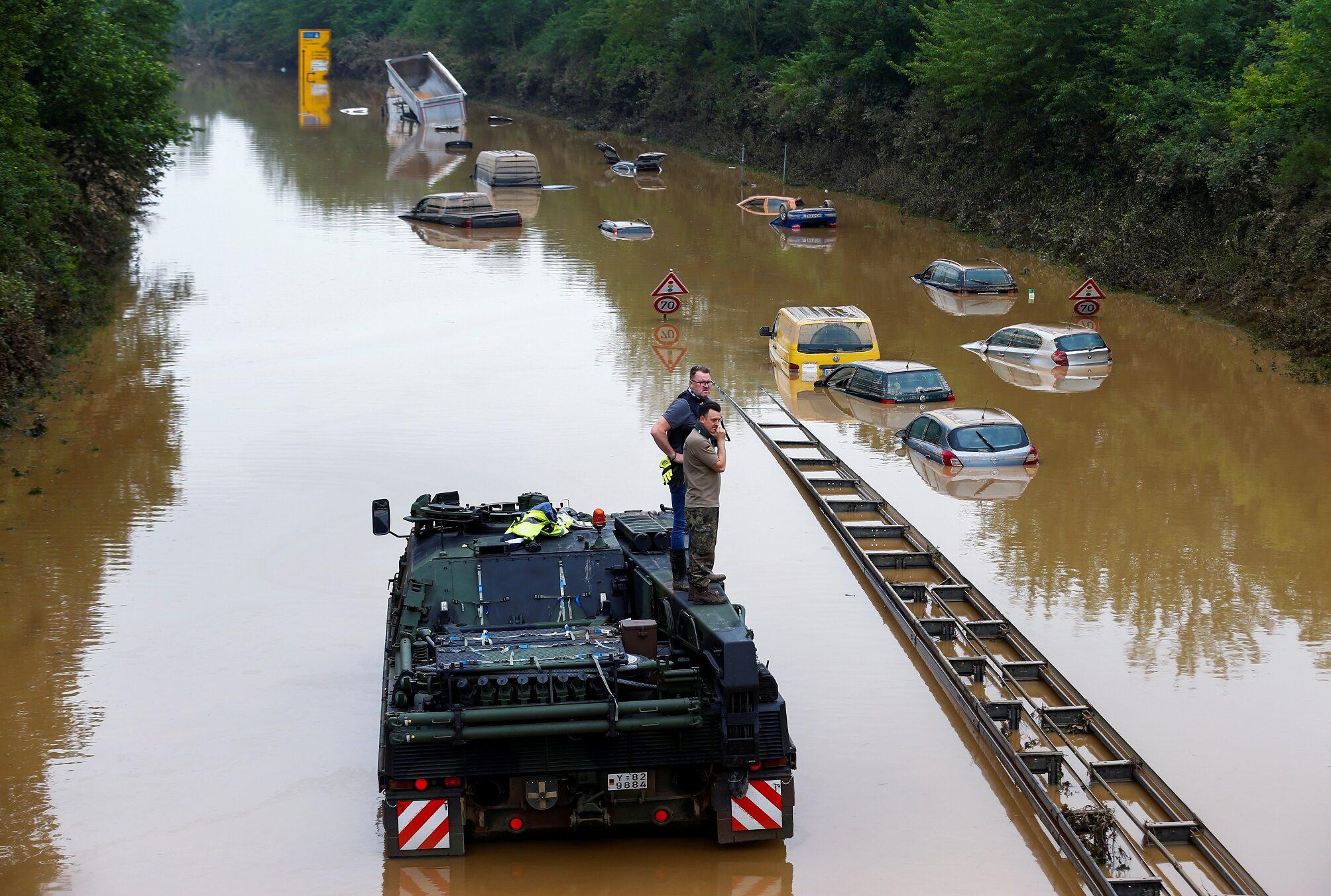 ยอดดับน้ำท่วม 'เยอรมนี-เบลเยียม' ทะลุ 170