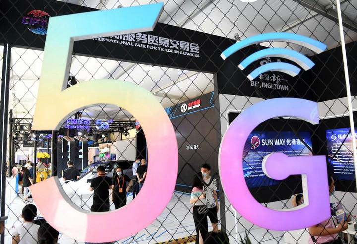 จีนเผยความครอบคลุม 'เครือข่าย 5G' ขยายตัวต่อเนื่อง