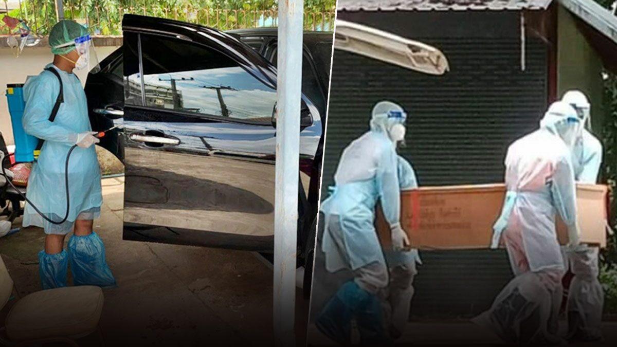 สะเทือนใจ ผัวติดโควิด เมียขับรถพากลับไปรักษาที่บ้าน แต่สิ้นใจก่อนถึงมือหมอ