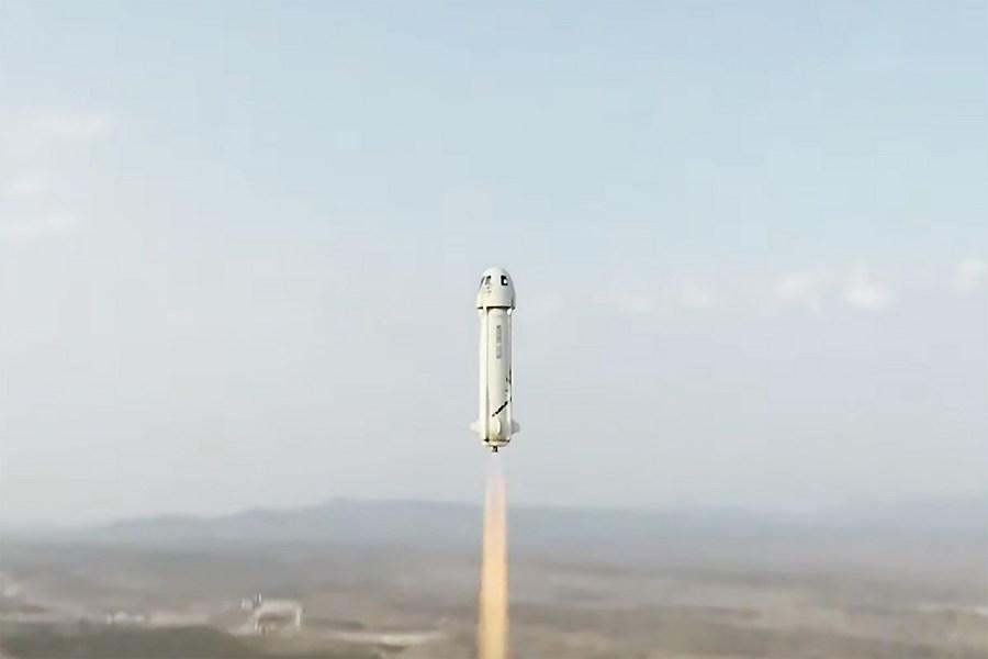 'บลูออริจิน' ส่งยาน 'นิวเชพเพิร์ด' พามนุษย์ท่องอวกาศครั้งแรกสำเร็จ