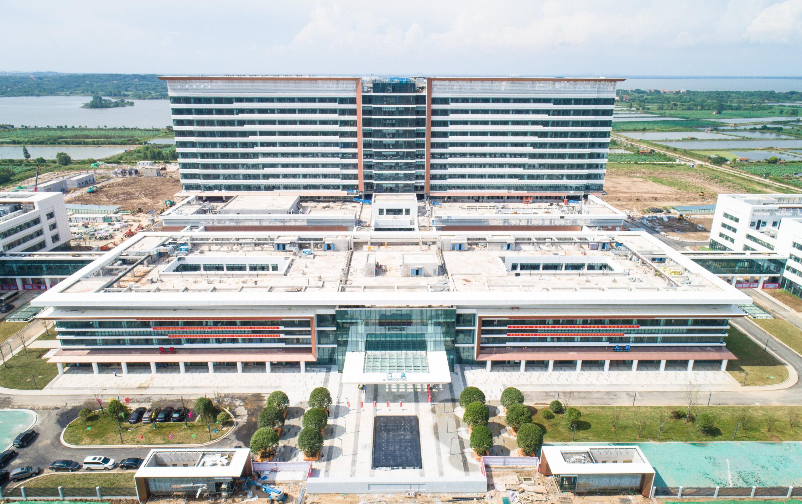 289 วันเสร็จ! อู่ฮั่นสร้าง 'โรงพยาบาล 1,000 เตียง' ชั้นนำระดับประเทศ