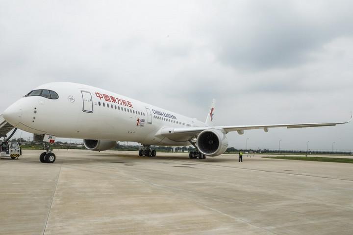 แอร์บัสเริ่มส่งมอบ 'A350' เครื่องบินลำตัวกว้างรุ่นใหม่ในจีน