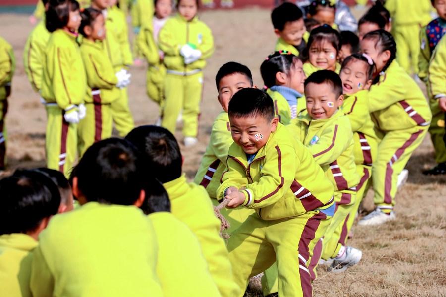 จีนเผย 'อัตราสมัครเรียนระดับอนุบาล' สูงเกิน 85%