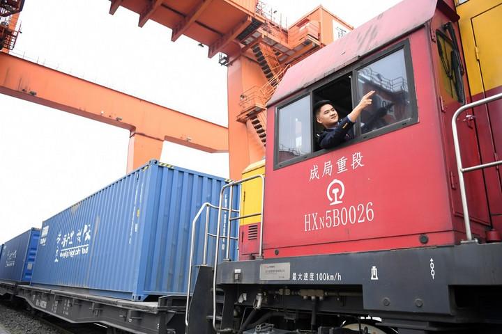 'ฉงชิ่ง' รองรับรถไฟสินค้าจีน-ยุโรป เพิ่มกว่า 50% ช่วงครึ่งปีแรก
