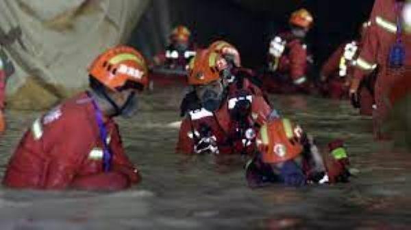 พบครบแล้ว14ศพ คนงานถูกน้ำทะลักท่วมคาอุโมงค์ก่อสร้างจูไห่