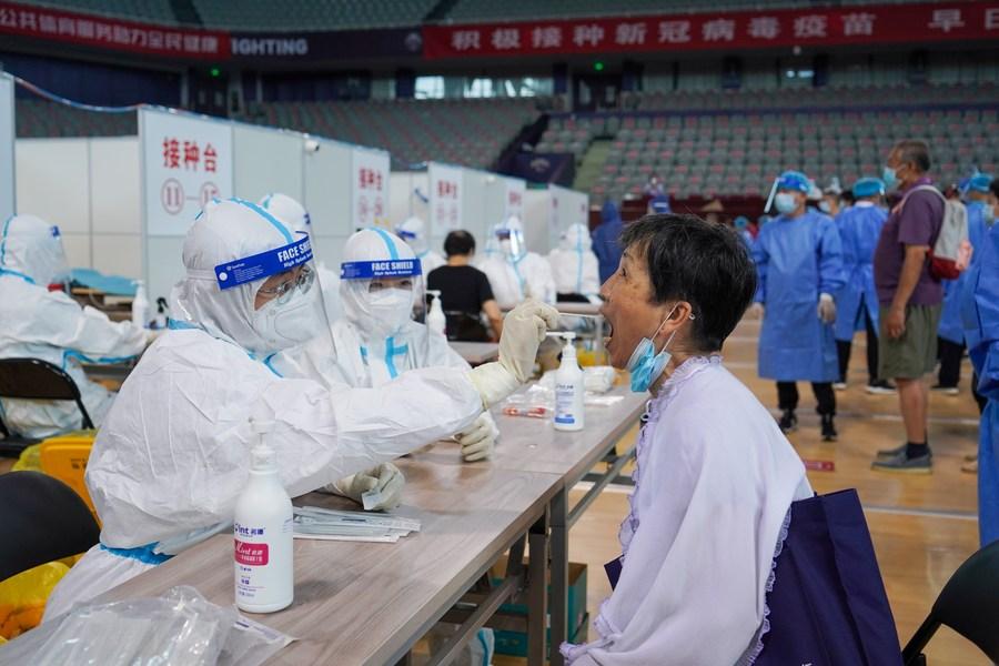 หนานจิงป่วยโควิด-19 เพิ่ม 12 ราย พบทำงานสนามบิน