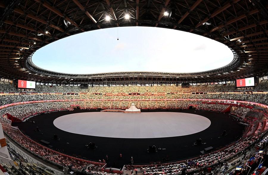 เงียบเหงา! ญี่ปุ่นเปิดแข่งขัน 'โตเกียว โอลิมปิก' แบบไร้ผู้ชม