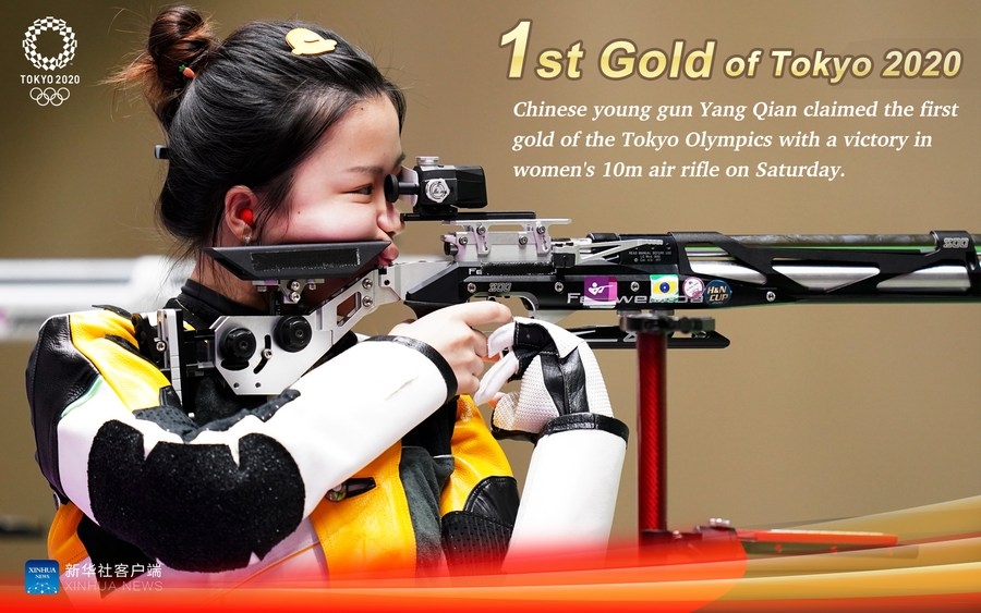 จีนเก็บสอง 'เหรียญทอง' โตเกียว โอลิมปิก 2020