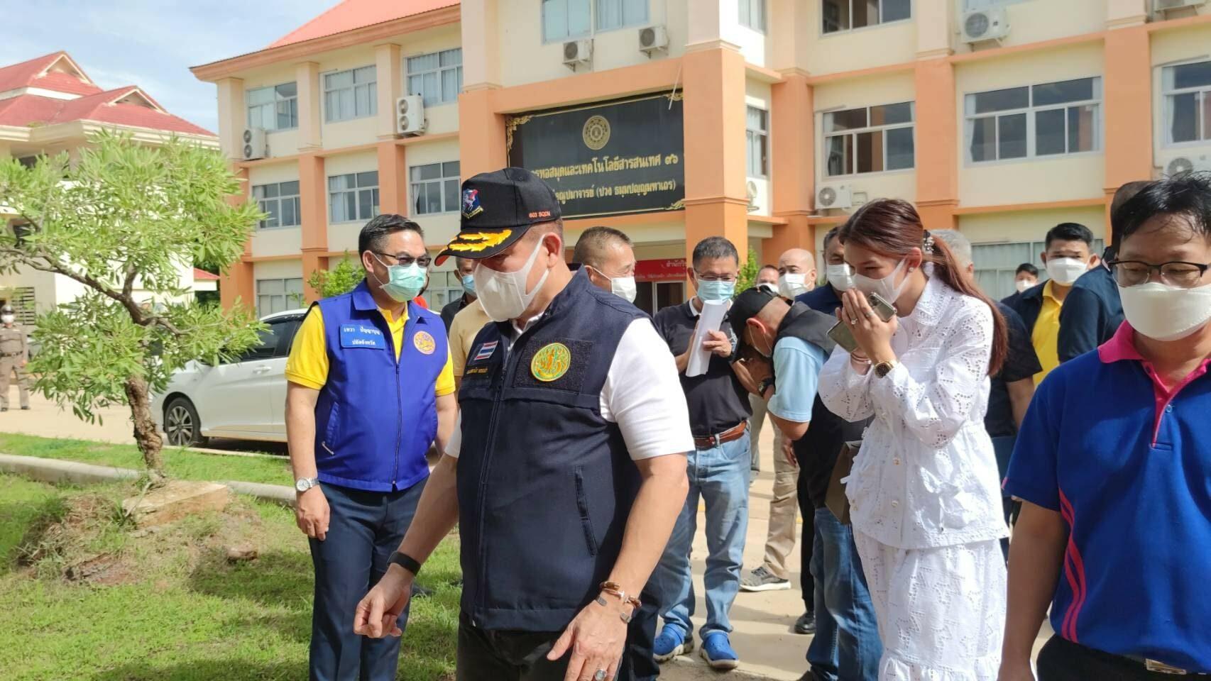 'ธรรมนัส' ระดมร่วมมือส่วนราชการพะเยา เดินหน้าโครงการ 'พาพี่น้องคนพะเยากลับบ้าน' รักษาตัวติดเชื้อโควิด-19 ตั้ง