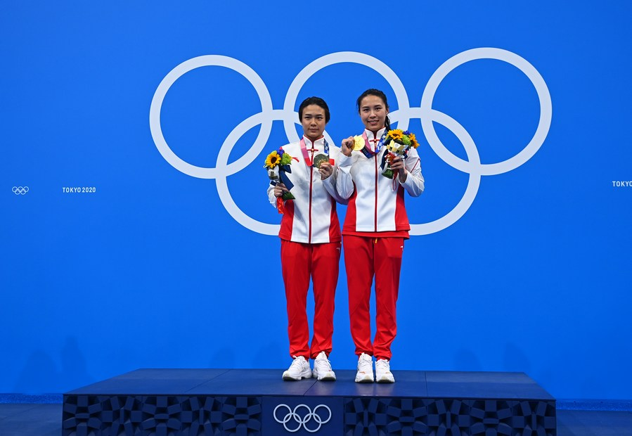 'โตเกียว โอลิมปิก' ไฟเขียวนักกีฬาถอด 'หน้ากากอนามัย' บนแท่นรับรางวัลชั่วคราว