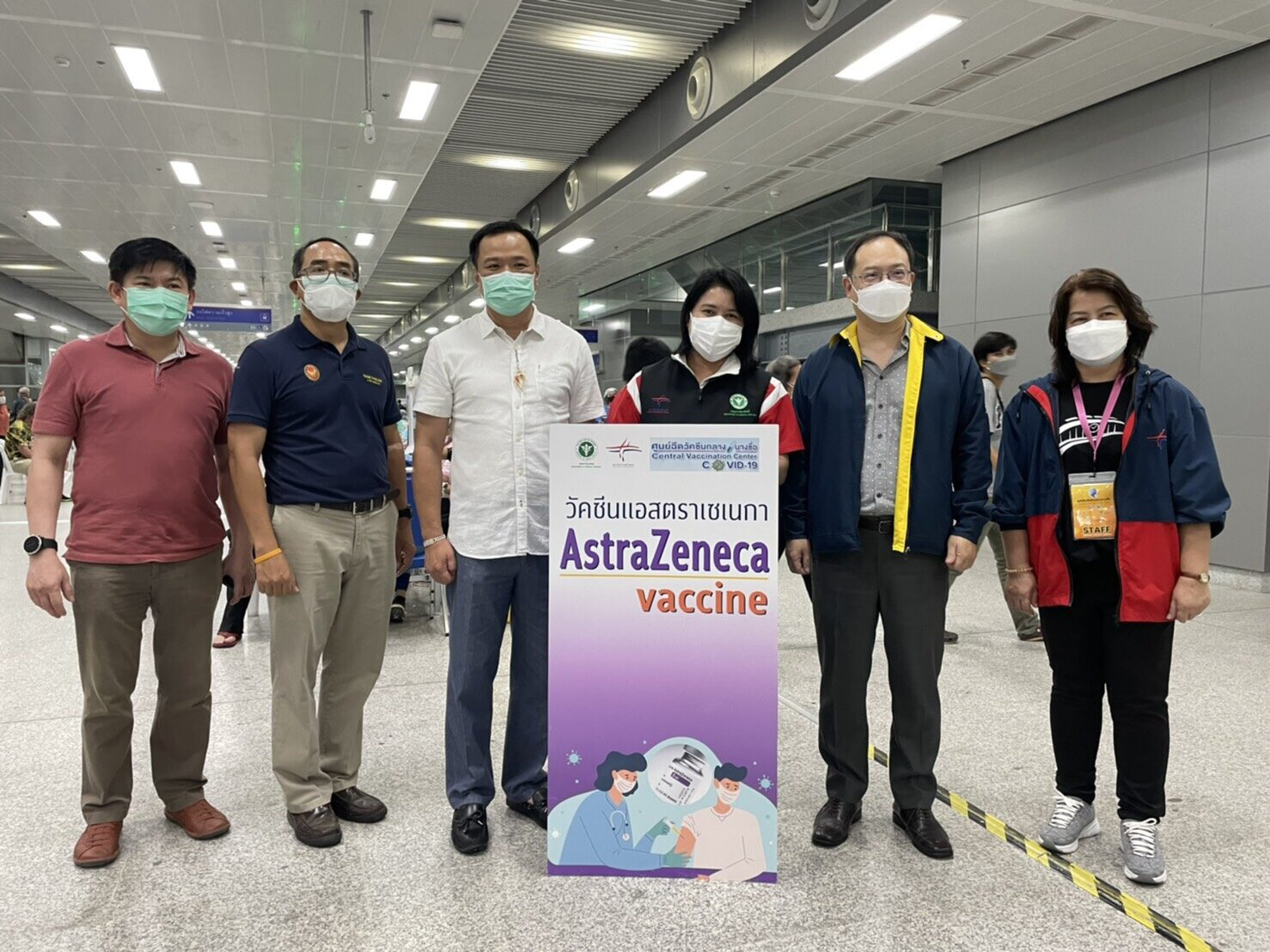 กต.ยืนยันความพร้อม ฉีดวัคซีนโควิดให้ชาวต่างชาติในไทย