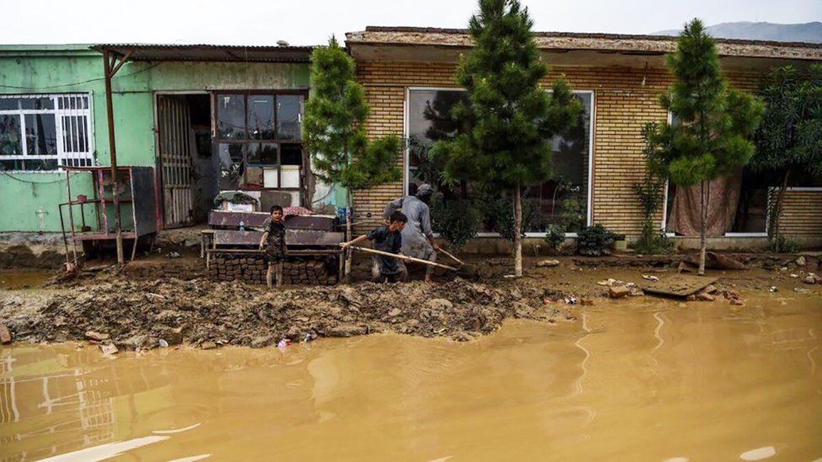"""น้ำท่วมฉับพลันพื้นที่ """"ตาลิบัน"""" ยึดครอง เผยยอดผู้เสียชีวิต 150 ราย"""