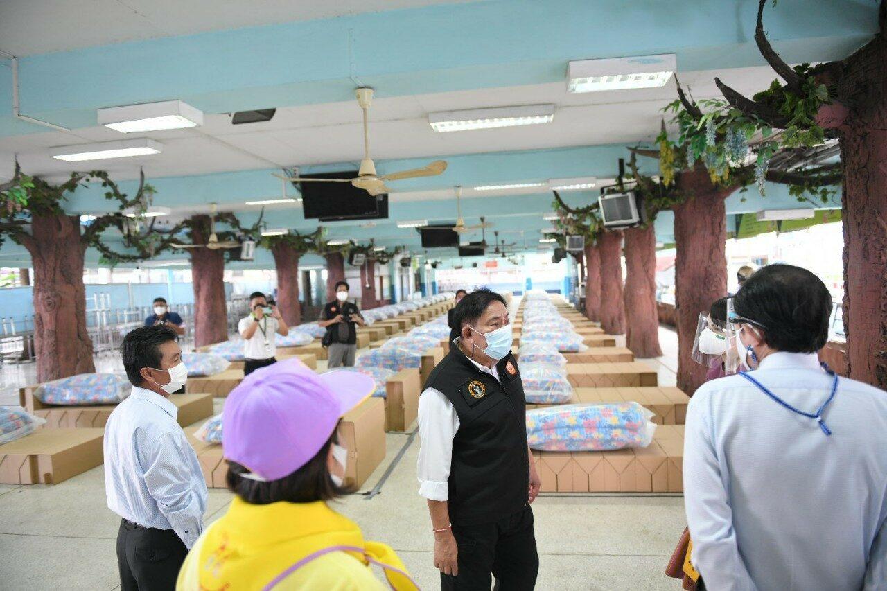28 ศูนย์พักคอยฯ ในกรุง รับผู้ป่วยโควิดแล้ว 7,568 ราย