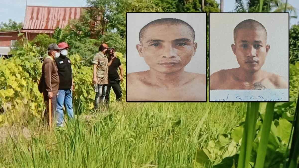 เร่งล่าอีก 2 นักโทษแหกคุกสุพรรณฯ ระดมจนท.กว่า 100 นาย ปิดล้อมค้นหา