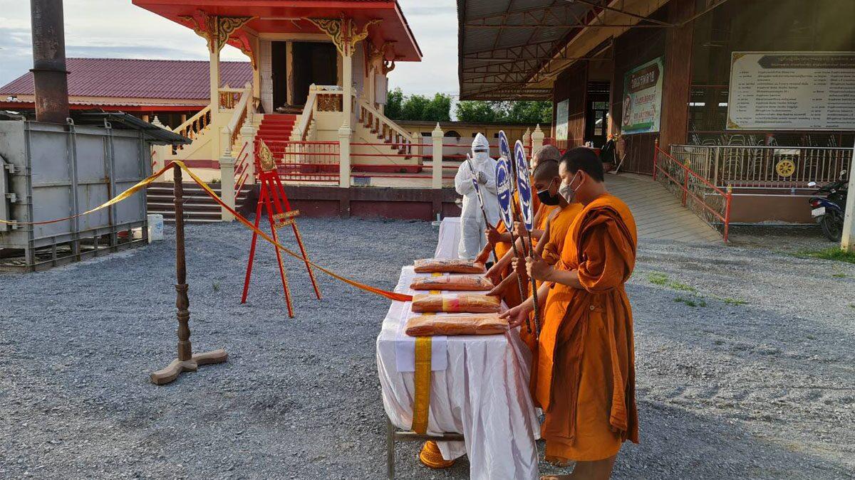 สุพรรณบุรี โควิดยอดพุ่งอีก เสียชีวิตรายวันอีก 4 ราย วัดเถรพลาย รับเผาศพโควิดไม่หยุด