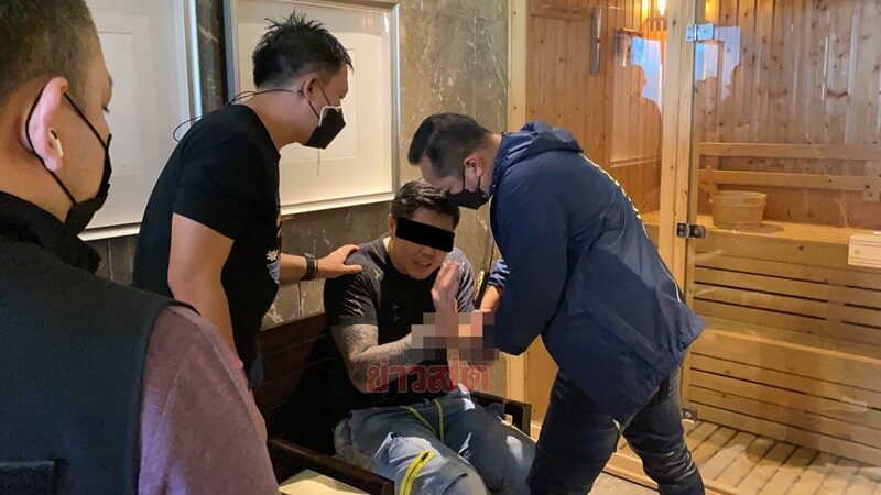 ชุดสืบ ตม.1 บุกจับยากูซ่า หนีหมายจับร่วมกันฉ้อโกง ซุกตัวกลางกรุงเทพฯ