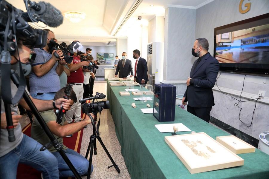 อิรักรับมอบ 'โบราณวัตถุ' จากสหรัฐฯ คืนสู่อ้อมอก 17,000 ชิ้น