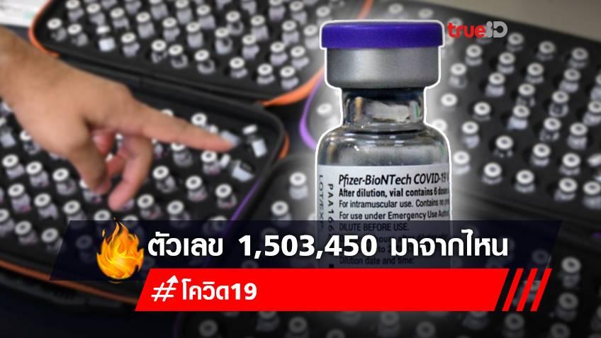 """เปิดสูตรคำนวณ """"วัคซีนไฟเซอร์"""" ที่ไทยได้รับบริจาคจากสหรัฐฯ พร้อมเงื่อนไขใหม่กระจายวัคซีน"""