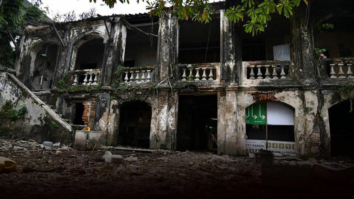เปิดประมูลเช่า 'วังค้างคาว' อาคารโบราณริมเจ้าพระยา เผยตำนานเก่าแก่