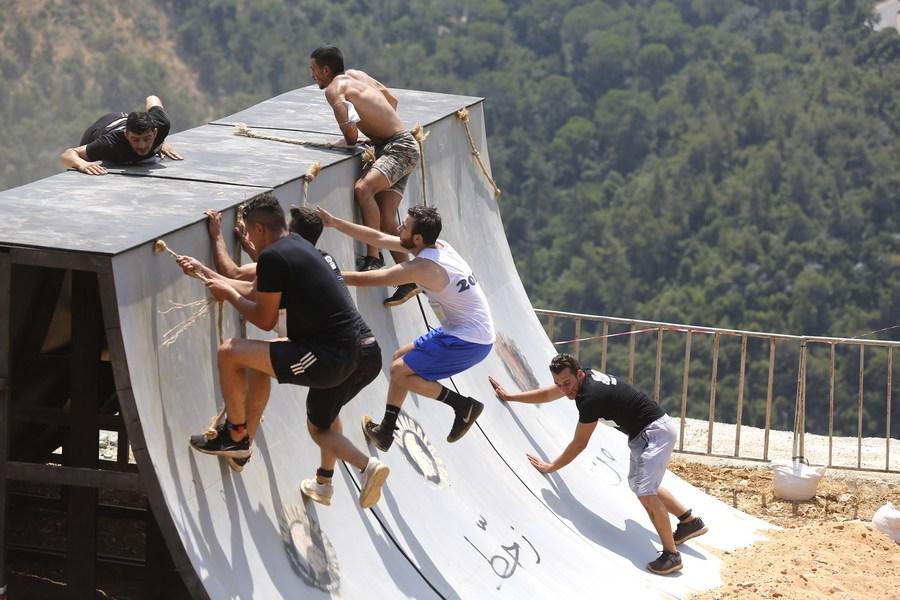 ส่องการแข่งขัน 'วิ่งวิบาก' สุดมันในเลบานอน