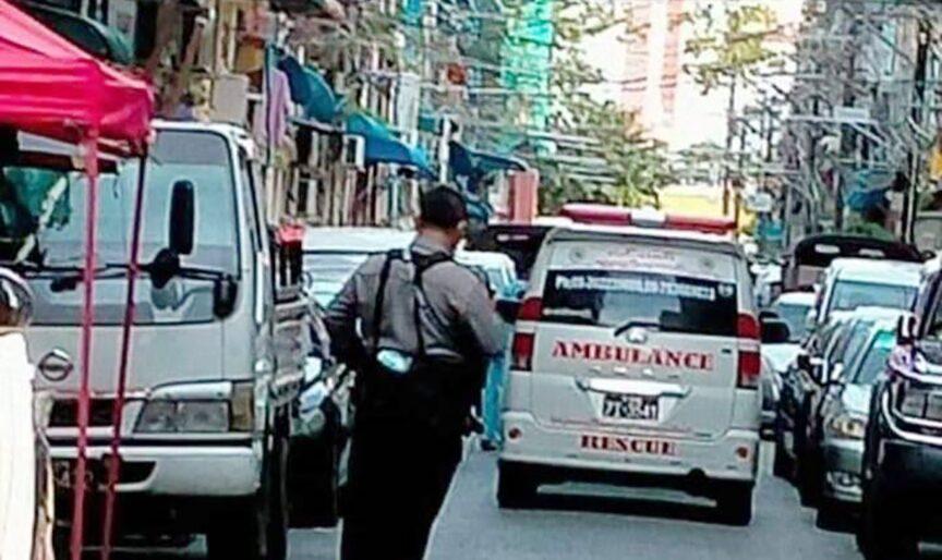 หนุ่มสาวพม่าโดดหนี นาทีเจ้าหน้าที่ทหารบุก สลดดิ่งตึกลงมาดับหมู่