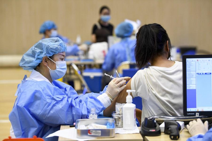 'หนิงเซี่ย' ลุยฉีดวัคซีนโควิด-19 ให้เยาวชนอายุ 15-17 ปี