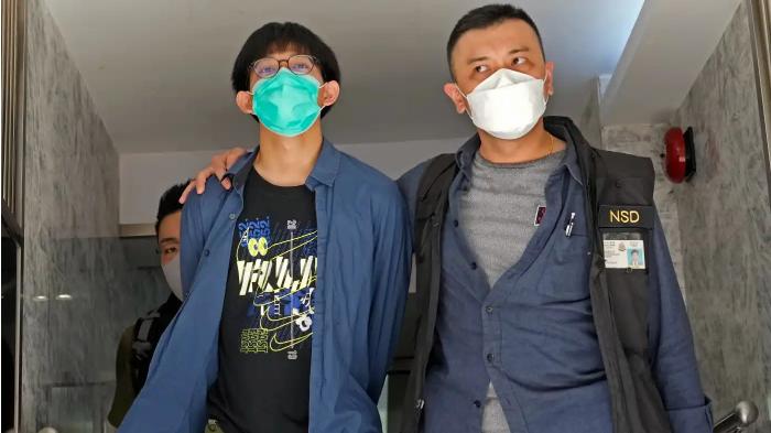 4นักศึกษาฮ่องกงถูกจับข้อหาสนับสนุนก่อการร้าย