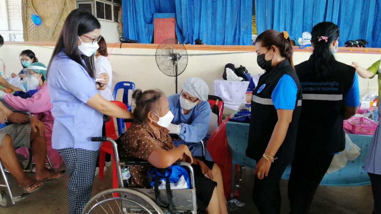 พิษณุโลก ระดมฉีดวัคซีนโควิด-19 แก่กลุ่มเปราะบางในชุมชน 4 ตำบล