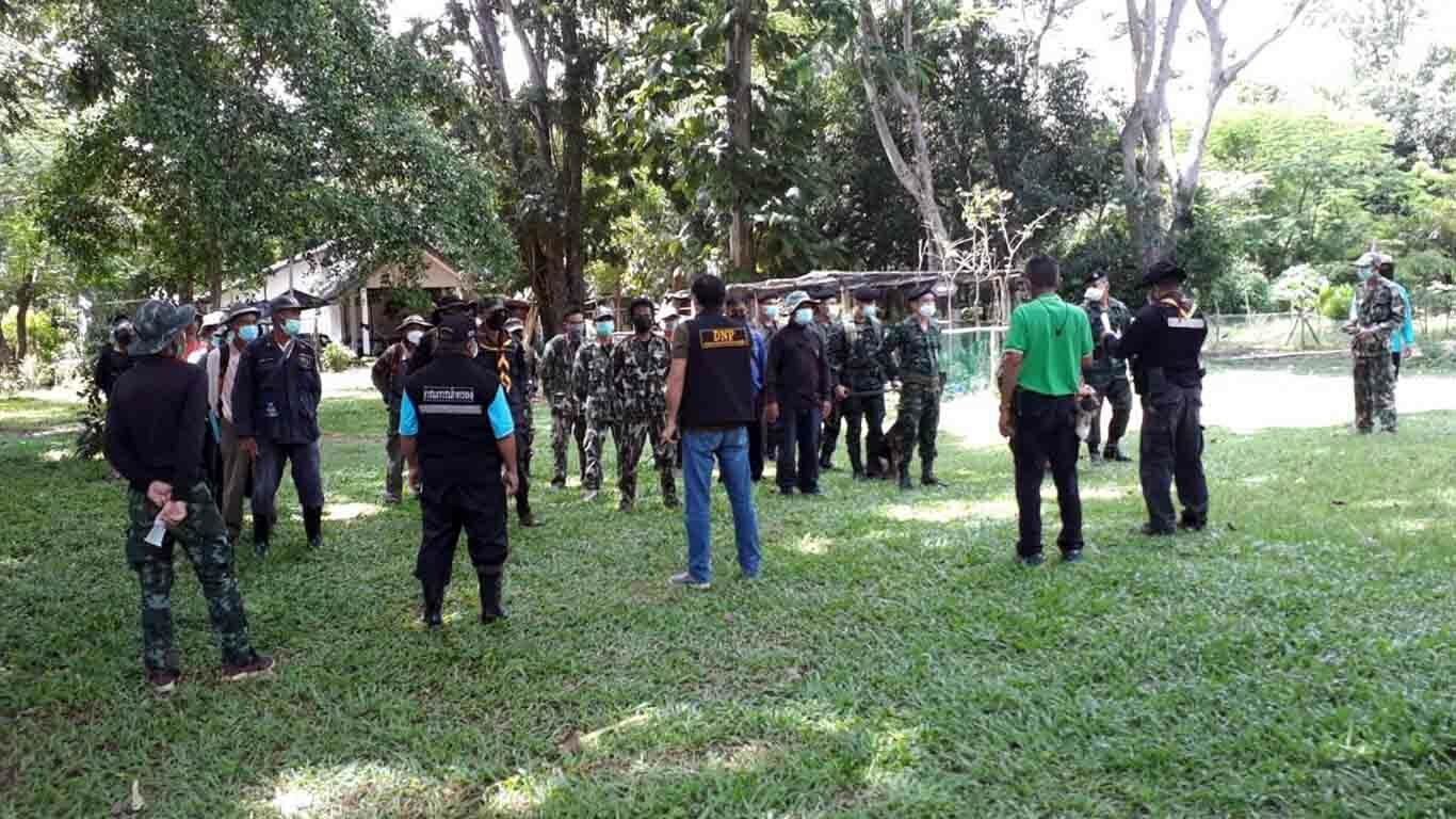 สนธิกำลังจัดทีม กว่า 50 นาย ติดตามคนหายหลงป่า วันที่ 3 พื้นที่ช่องกุ่ม จ.สระแก้ว