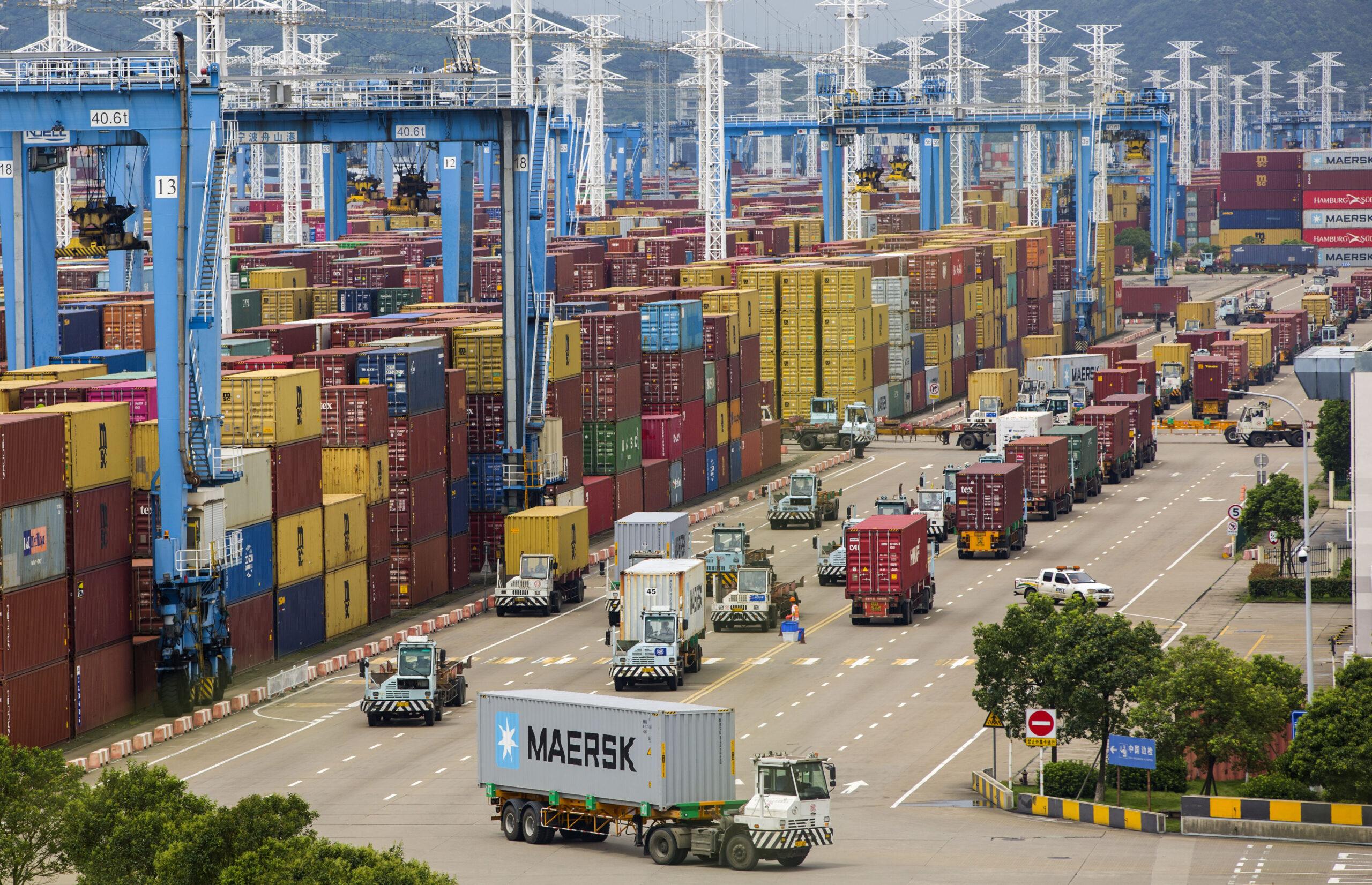 จีนเผย 'ยอดขนส่งสินค้า-ตู้คอนเทนเนอร์' โตต่อเนื่องในเดือนกรกฎาคม
