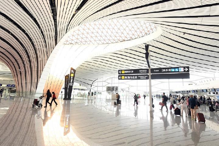 สนามบิน 'ปักกิ่ง ต้าซิง' รองรับผู้โดยสารเกือบ 39 ล้านครั้งใน 2 ปี