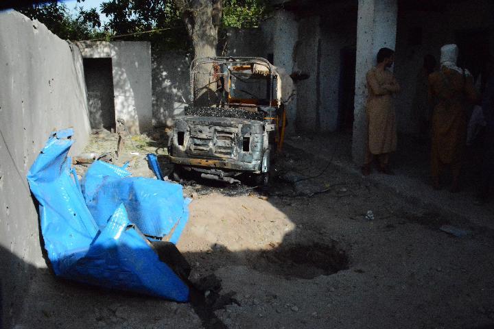 ความเสียหายหลัง 'สหรัฐฯ' โจมตีกลุ่มไอซิสในอัฟกานิสถาน