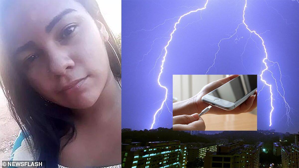 วัยรุ่นสาวบราซิลถูกไฟดูดตาย ขณะเล่นมือถือเสียบปลั๊กชาร์จ แล้วฟ้าผ่าบ้าน