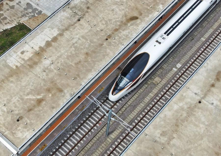 'การรถไฟจีน' เผยการดำเนินงานครึ่งปีแรกฟื้นตัวมั่นคง