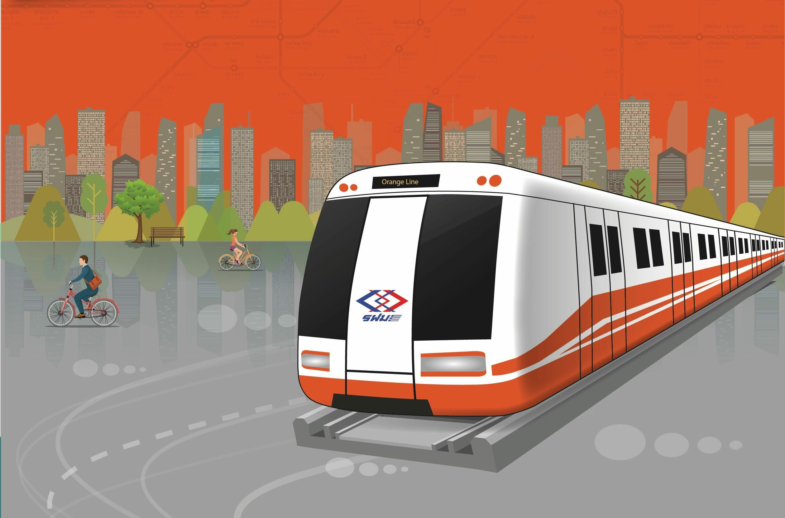"""ส.ก่อสร้างไทยห่วงรถไฟฟ้าสายสีส้มล่าช้า แนะทีโออาร์ด้าน""""เทคนิค-ราคา""""ต้องให้ทุกฝ่ายยอมรับ"""
